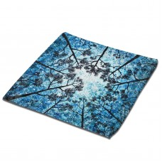 A Tree Looking Up At The Sky Classic Cloth Face Towels Mini Squares Wash Hand Towel swimming pool,30cm x 30cm,Superfine Fiber.