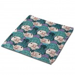 Stock-vector-vector-seamless-pattern-with-pigs-pigs-with-hats-1051468145 Classic Cloth Face Towels Mini Squares Wash Hand Towel picnic,30cm x 30cm,Superfine Fiber.